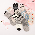 New and fashion Women's Girl's Mixed Styles Comfy Medium Long Casual 3D Cartoon Socks 3 Pairs/set