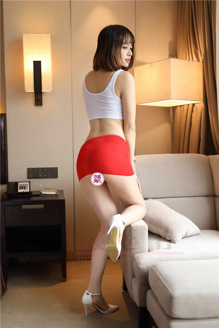 Hot Women Sexy Micro Red Black Mini Skirts Lady See Through Transparent Cute Short Skirt Night