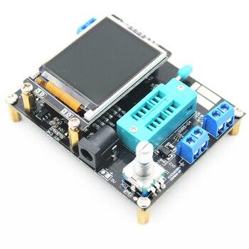 2016 KITS DIY ATMEAG328P M328 Transistor Tester Diode LCR Capacitância ESR medidor PWM de onda Quadrada Gerador de Sinal