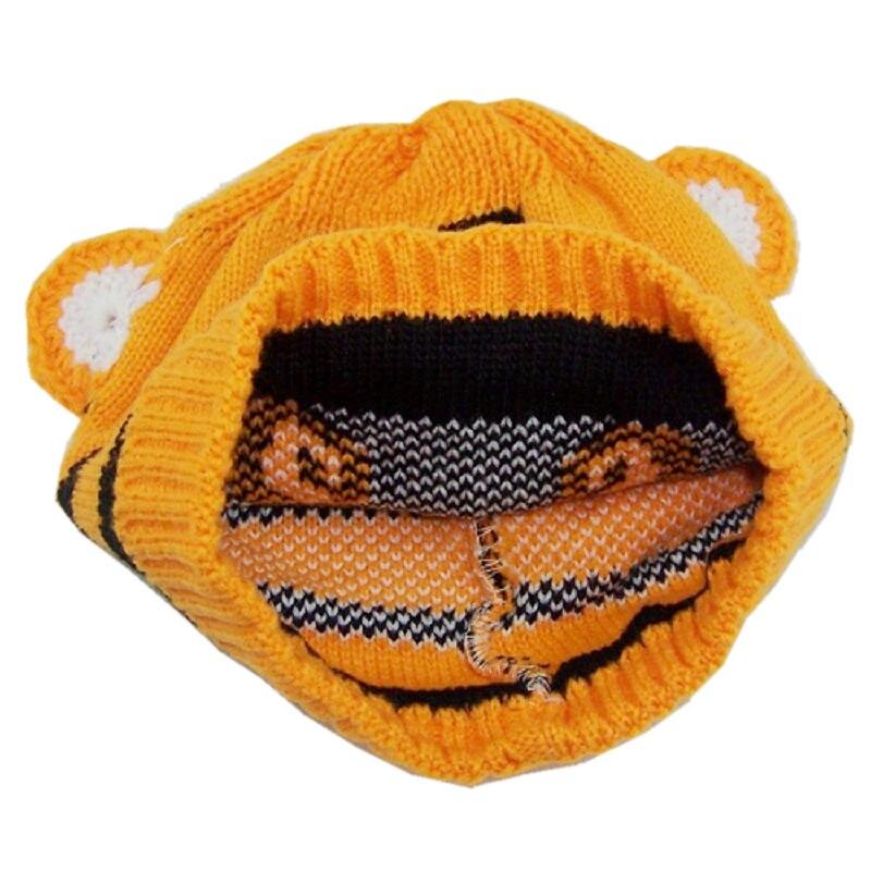 Bnaturalwell, детские шапки в виде тигра, вязаная шапка с животным дизайном, Детские шапочки с тигром, детские вязаные шапки, шапка для малыша, 1 шт., H001