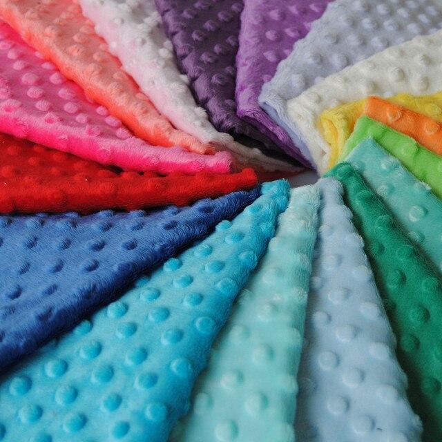 Stoff Färben freies verschiffen heißer verkauf minky stoff für diy nähen stoff