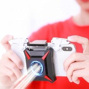 Image 1 - Soğutucu telefon Usb soğutma fanı oyun telefonu radyatör taşınabilir damla sıcaklık Usb kablosu