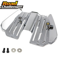 For Harley Touring Electra Glides Road Glides Street Glides FLHX FLHR Road King 2017 2019 Chrome Spark Plug Wire Cover