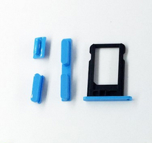 High Quality SIM Card Tray Slot Sim Card Holder Side Button Green Yellow Red Blue White
