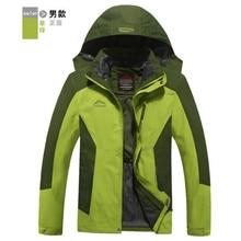 Waterproof Outdoor Jacket Men Women Lovers 3 In 1 Windproof Thermal Hardshell Hiking Jackets Windstopper Breathable Winter Coats