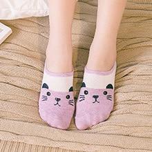 2017 New Fashion casual Women's Casual Animal Shape Socks women's socks ankle low female invisible hosiery 17-021