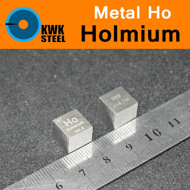 Ho holmium cube coin block bulk pure 999 periodic table of rare ho holmium cube coin block bulk pure 999 periodic table of rare earth metal urtaz Gallery