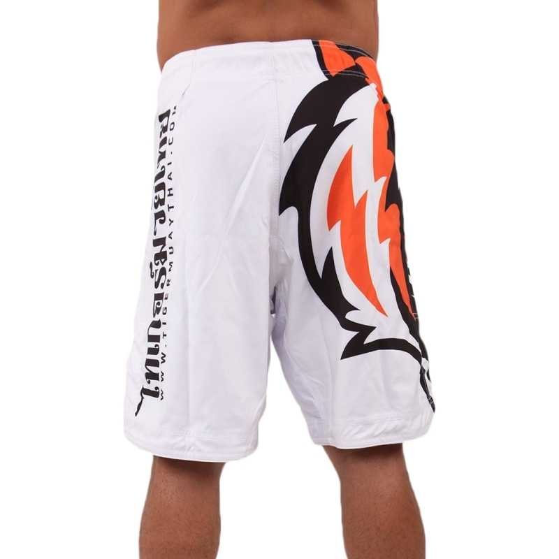 Suotf o novo tigre branco muay thai mma luta shorts boxe muay thai boxing shorts bad boy roupas de boxe muay thai shorts