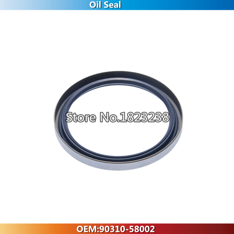Rear Right Axle Halfshaft Oil Seal OEM:90310-58002 For Toyota DYNA LAND CRUISER 90 LAND CRUISER 100 For LEXUS LX470 1998-2007