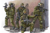 1/35 Modern German Army Special Forces Soldiers Who Model 00422 KSK
