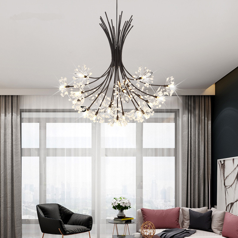 13/19 arms American Classic Crystal chandelier lights for ...