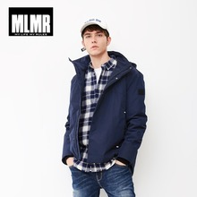 MLMR Parka con capucha para hombre chaqueta con capucha JackJones nueva marca 218309501 para hombre