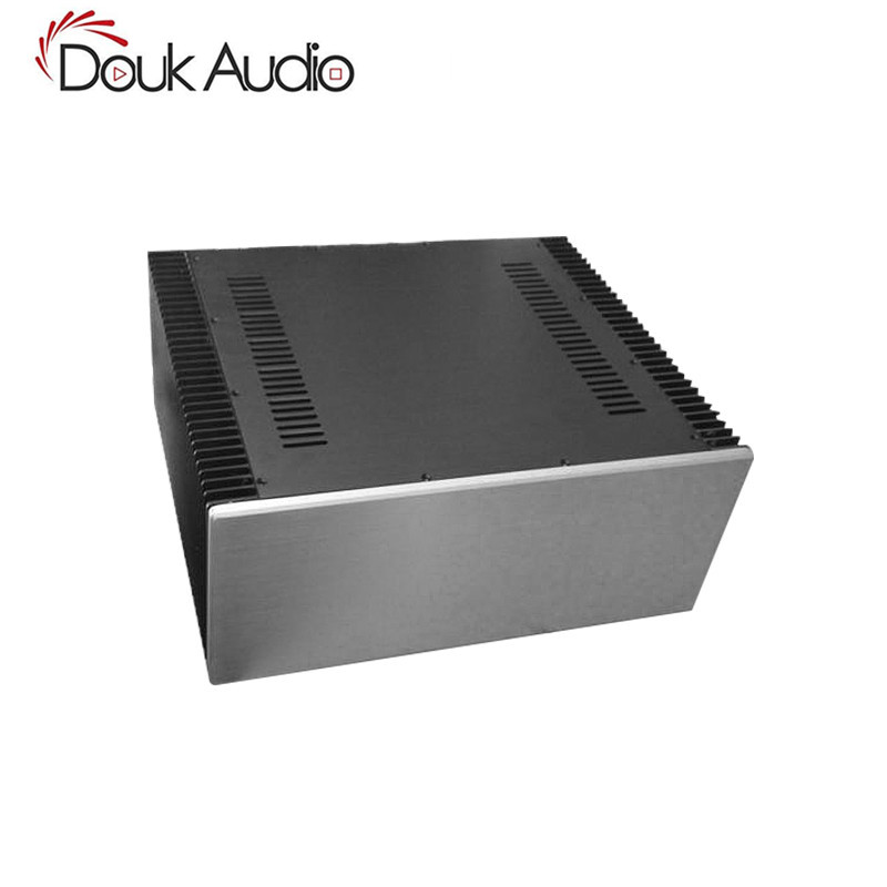 Douk Audio Large Aluminum Chassis Class A Power Amplifier DIYer Enclosure W480*H200*D411mmDouk Audio Large Aluminum Chassis Class A Power Amplifier DIYer Enclosure W480*H200*D411mm
