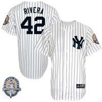 MLB Stitched Derek Jeter Mariano Rivera Retirement Patch Baseball Jerseys Don Mattingly Gary Sanchez Aaron Judge
