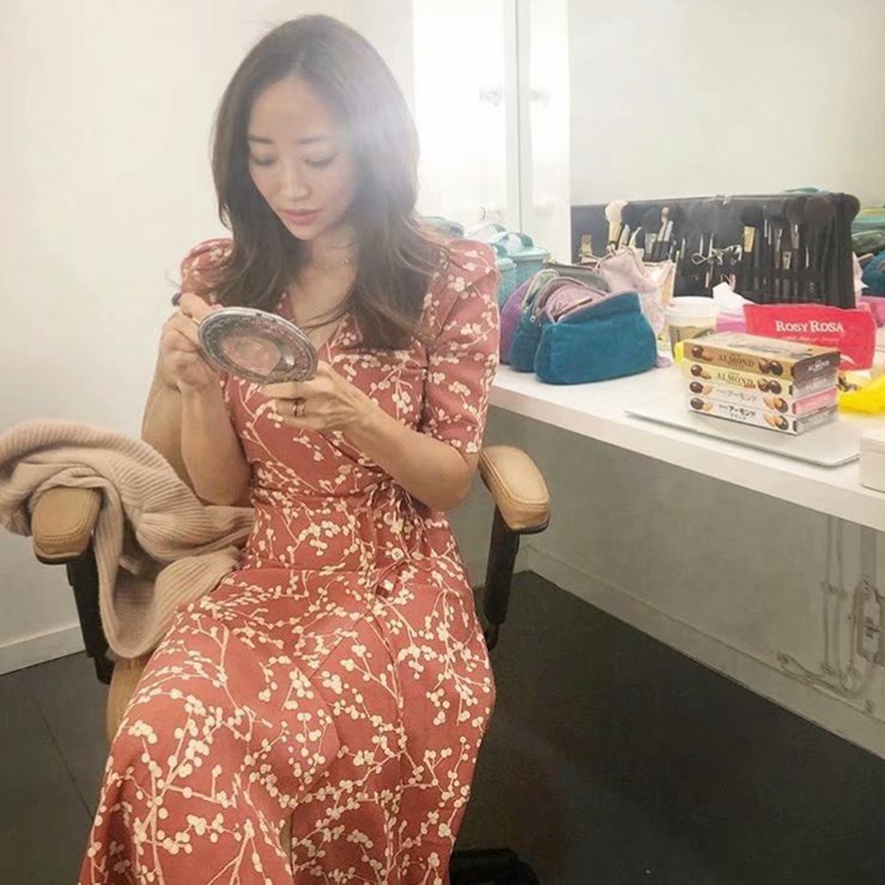 Summer women dress elegant vintage beach dress short sleeve causal sexy wrap long dress boho korean vestidos 3