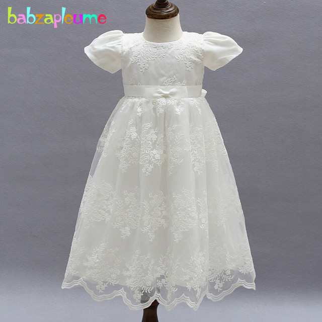 f0ca7c74a24f babzapleume summer newborn baby girls 1 year birthday wedding dress infant  princess christening gown baptism tutu dresses BC1486