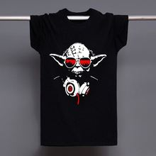 Women & Mens Yoda Cool Dj Hip Hop Star Wars Darth Vader T-Shirt Male Cotton O-Neck Fashion Casual High Quality Print T Shirt