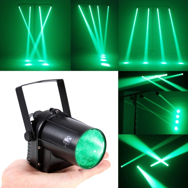 Mini Green Lighting 3W LED Spotlight Spot Light Bar/Party/DJ/Disco ...