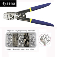 Hyaena Multifunctional Anti Corrosion Fishing Pliers Stainless Steel Fishing Line Tackle Cutter Scissors Crimping Terminal Tool