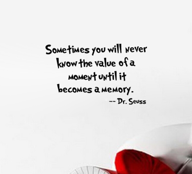 Dr Seuss Memory: NEW Dr. Seuss Sometimes You Will Never Know The Value Of A