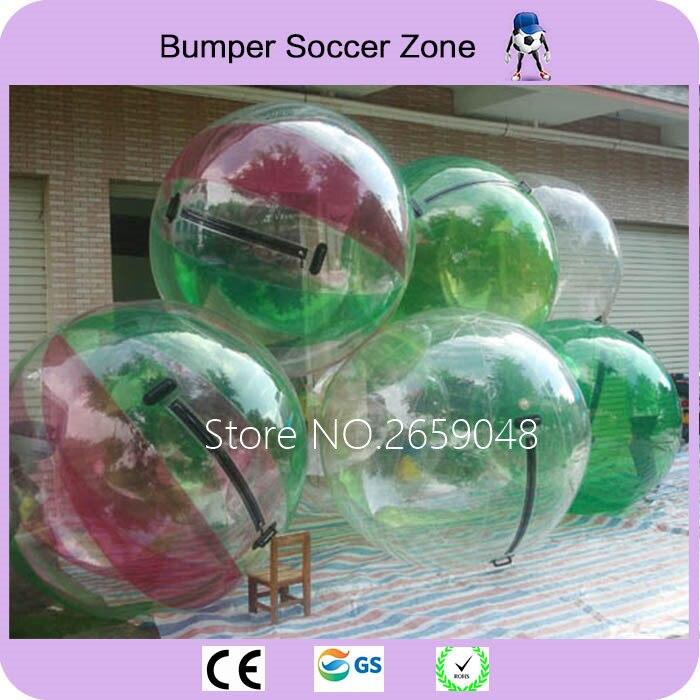 Livraison gratuite eau marche balle piscine PVC ballon gonflable multi-fonction boule d'eau danse balle transparente boule d'eau Dia 2 M