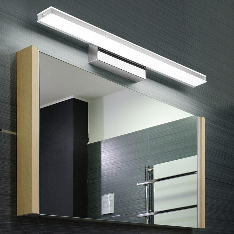 Donwei Modern Minimalist 7w 9w Led Makeup Mirror Lamp Stainless Steel Wall Lamp Modern Home Decoration Lamp Bathroom Bedroom Lights & Lighting