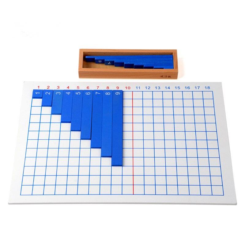 Igračka za bebe Montessori dodavanje oduzimanje daske za matematiku - Obrazovanje i osposobljavanje - Foto 3