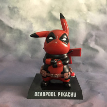 Deadpool Pikachu Figure Crossover