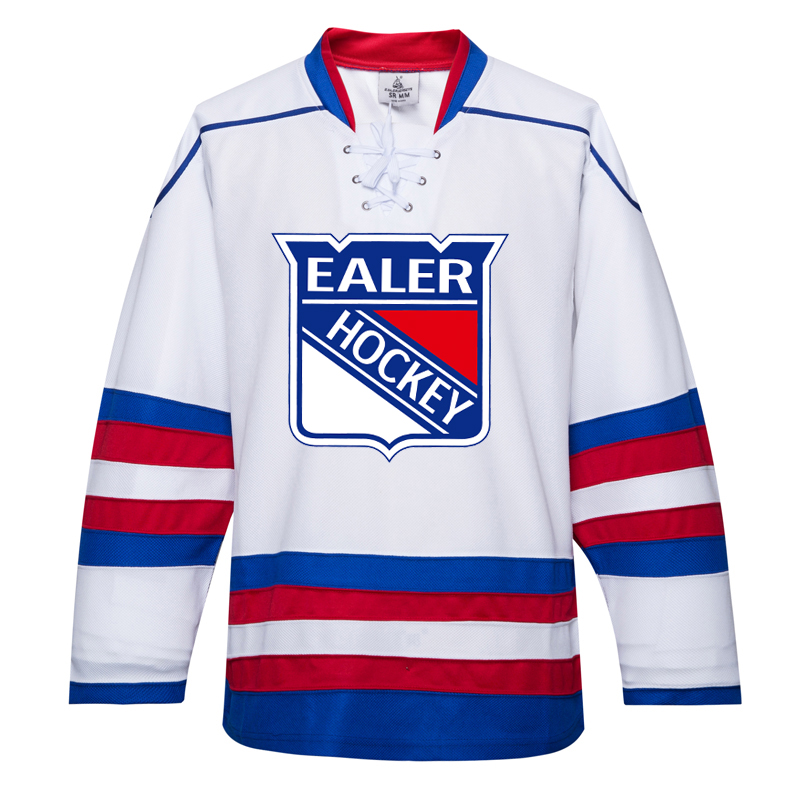 watch b1c7c 1cdae US $30.89 28% OFF|EALER free shipping Rangers ice practice hockey jerseys  With Printing EALER Logo in stock customized E035-in Hockey Jerseys from ...