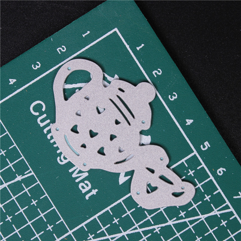 Metal Cutting Dies for Diy Scrapbooking Die Cut New 2018 Cuts for Paper Card Making Craft Embossing Photo teapot mold