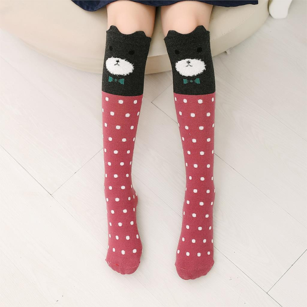 Cartoon-Cute-Children-Socks-Print-Animal-Cotton-Baby-Kids-Socks-Knee-High-Long-Fox-Socks-For-Toddler-Girl-Clothing-Accessories-2