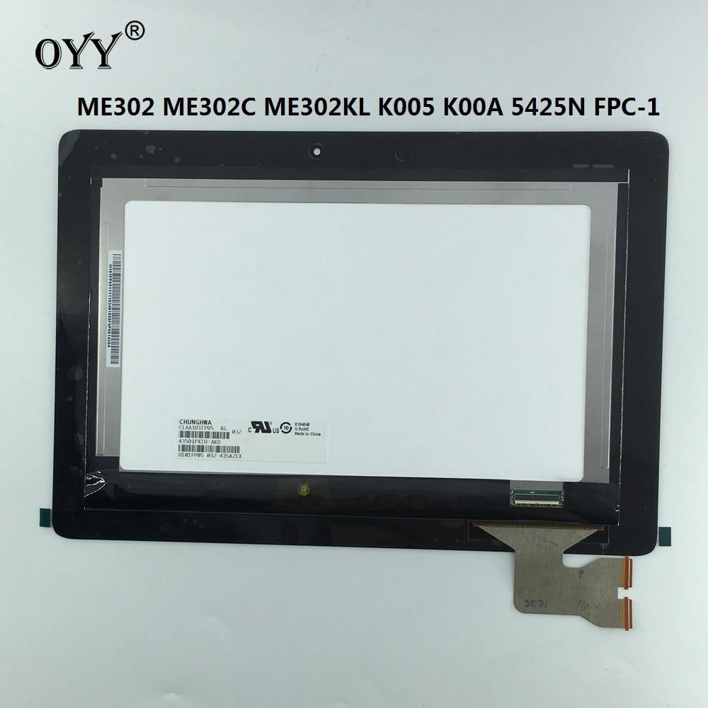 LCD Display Touchscreen Matrix Digitizer Tablet Assembly Ersatzteile für ASUS MeMO ME302 ME302C ME302KL K005 K00A 5425N