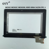 LCD Display Touch Screen Matrix Digitizer Tablet Assembly Replacement Parts For ASUS MeMO ME302 ME302C ME302KL