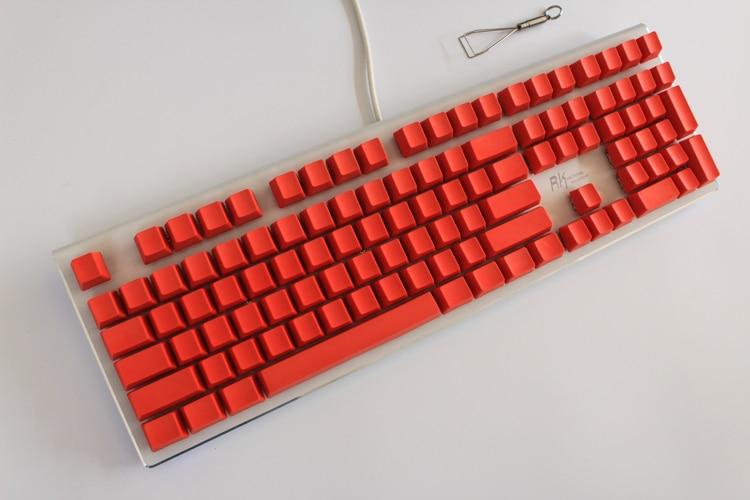MP 108/87 klahviga PBT punane tühi võtmehoidja kõrge - Arvuti välisseadmed - Foto 4