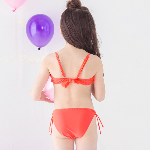 Girl Bikini 2018 Baby Girl Swimsuit Bathing Suits for Children Two Pieces Swimwear Beach Bikini Set Girls Biquini Infantil Suit