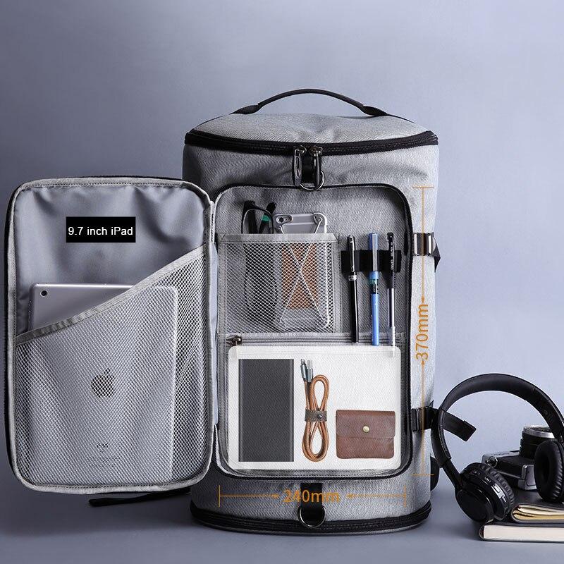 Kaka 40l Large Capacity 15.6 Laptop Bag Men Backpack Travel Backpack Bags For Mlae Teenagers Computer School Bagpack Rucksack