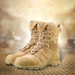 FANCIHAWAY High Top outdoor Men Hiking Shoes Mangal Combat Military Tactical Boots Outdoors free soldier camping men sneakers