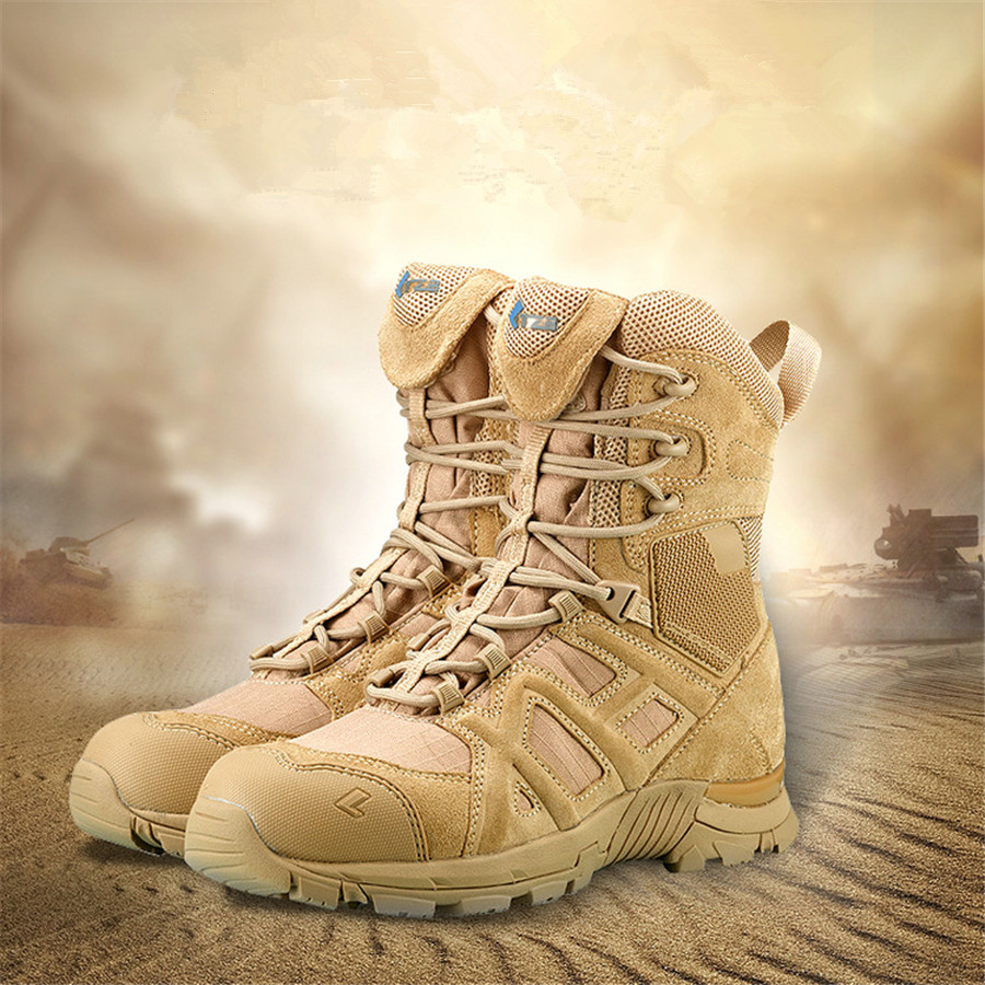 FANCIHAWAY High Top outdoor Men Hiking Shoes Mangal Combat Military Tactical Boots Outdoors free soldier camping men sneakers free soldier черный маленький