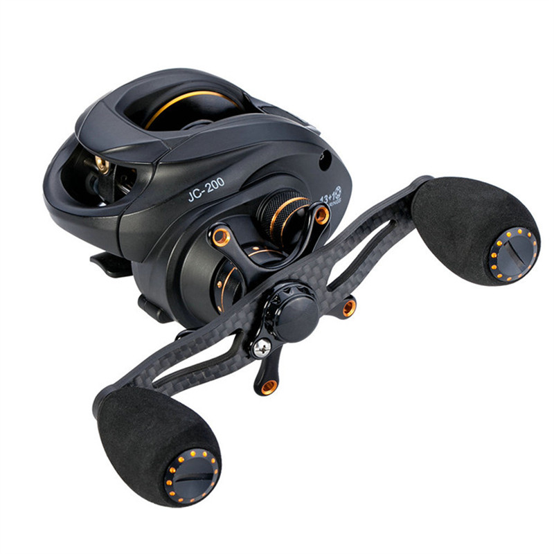 13+1BB Water Drop wheel Assassin 7.5KG Drag Carbon Baitcasting Reel Right Left Hand Carp Fishing Reel High Speed 6.3:1 Lure Reel 12 1bb 6 3 1 left right hand casting fishing reel cnc fishing reels carp bait baitcasting carretilha de pesca molinete shimano