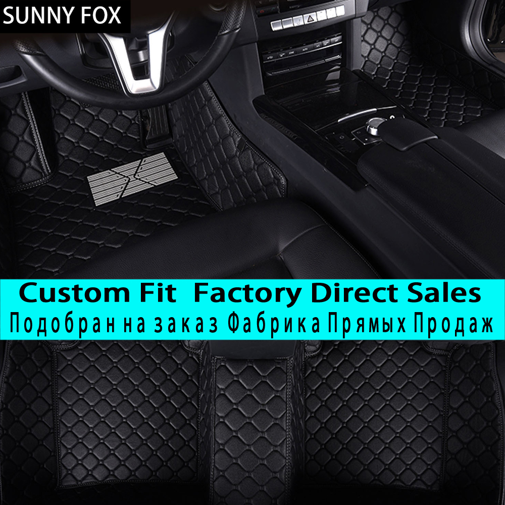 SUNNYFOXcar floor mats for Mazda 3/2 MX-5 CX-5 CX-7 car-styling heavy duty all weather protection carpet floor linerSUNNYFOXcar floor mats for Mazda 3/2 MX-5 CX-5 CX-7 car-styling heavy duty all weather protection carpet floor liner