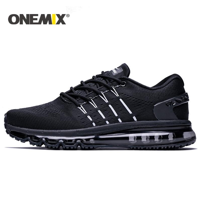 Onemix 2017 new men running shoes unique design breathable sport shoes for men male athletic outdoor sneakers zapatos de hombre