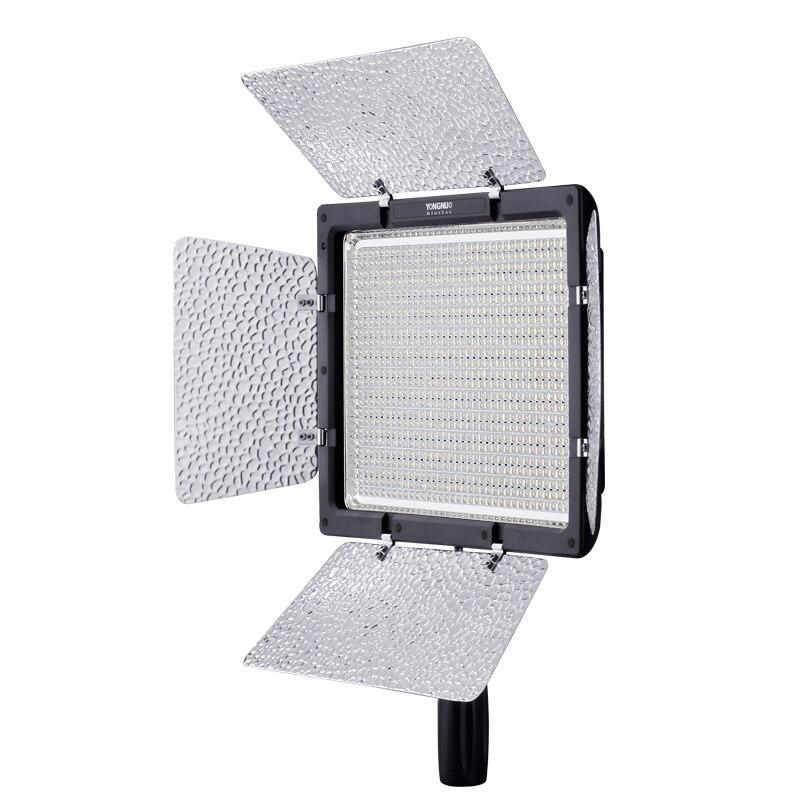 Image 2 - YONGNUO YN 900 YN900 5500K panel de luz de vídeo LED Pro LED Video Studio Control de luz para Canon con adaptador de corriente DCKit de iluminación fotográfica   -