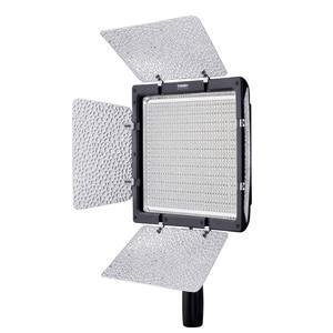 Image 2 - Yongnuo YN 900 yn900 5500 k sem fio led painel de luz vídeo pro led vídeo studio luz controle para canon com adaptador energia dc