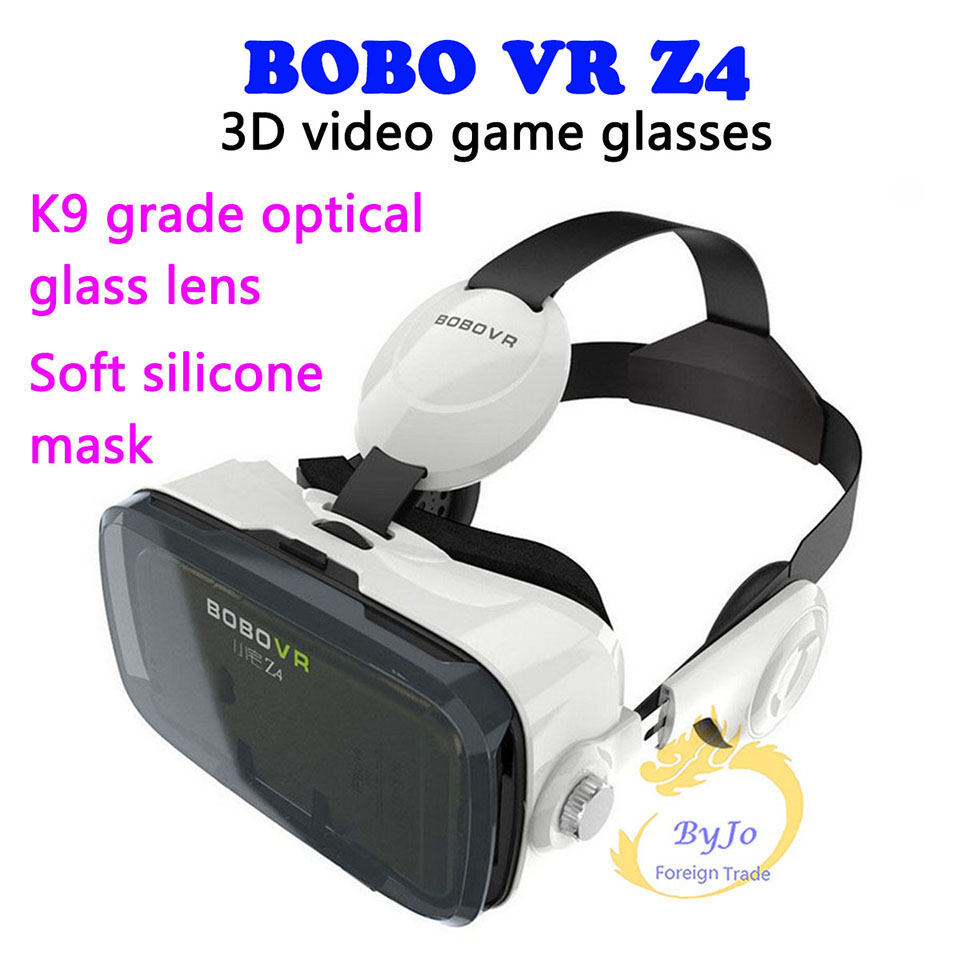 BOBOVR Z4 Virtual reality Video game glasses compatible 4.7-6.2 inch Smartphone Incidental Multi-Function Bluetooth game pad