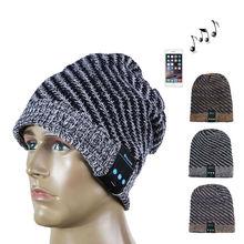 Новая Мода Мягкий Теплый Шерсть Шляпа Беспроводная Связь Bluetooth Смарт Крышка Гарнитура Для Наушников Динамик DM #6