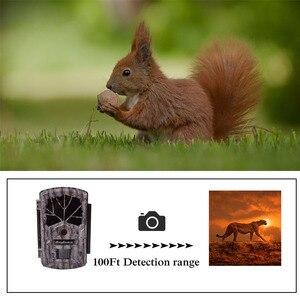 Image 2 - Bolyguard охотничья пробная камера 24 МП фотоловушка 100 футов камера для дикой природы 940 нм ночное видение черная ИК фотоловушка камера