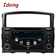 Idoing 2Din Android6.0Car Multimedia Video DVD Player Fit MITSUBISHI PAJERO Steering Wheel 8Core Bluetoaoth 2G+32G Fast Boot