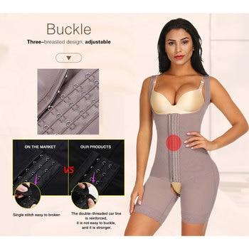 Lover Beauty Women Full Body Shaper Seamless Thigh Corset Tummy Control Underbust Slimming Corset Bodysuit Shapewear Butt Lifter 3