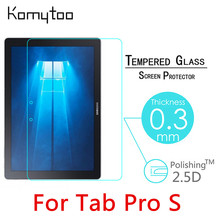 "9H 0.3mm Toughened Tempered Glass For Samsung Galaxy Tab Pro S 12"" Tablet PC Film Delicate touch Screen Protector Cover527"