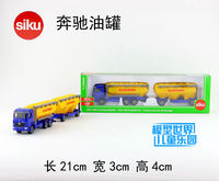 SIKU Diecast Metal Cars Toys Alloy Truck Models BENZS Truck With Feedstuff Silopower Toys For Children